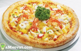 Cách làm Pizza gà thơm ngon, béo ngậy