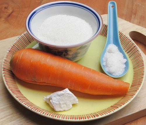 Nguyên liệu cần chuẩn bị để làm mứt cà rốt ngon - cách làm mứt cà rốt ngon