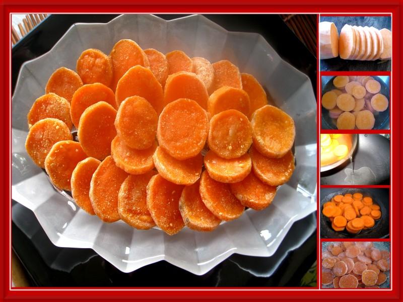 món ngon dễ làm: Cách làm mứt khoai lang ngon và đơn giản cho ngày Tết