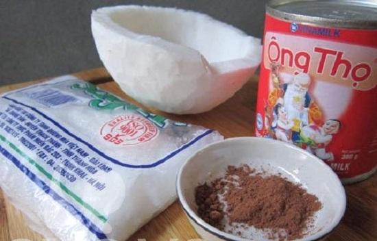 Nguyên liệu dùng để làm mứt mứt dừa non ngon đơn giản tại nhà - cách làm mứt dừa sữa