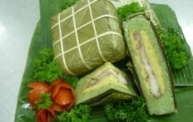 Cách gói bánh chưng xanh tự nhiên cho ngày Tết cổ truyền