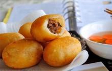 Cách làm bánh bao chiên nhân thịt đơn giản nhất cực ngon