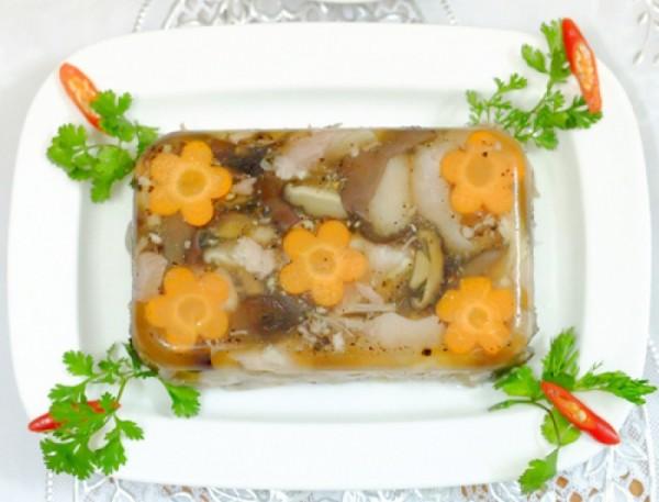 Cách nấu thịt đông ngon mỗi dịp tết đến, xuân về cùng gia đình thưởng thức