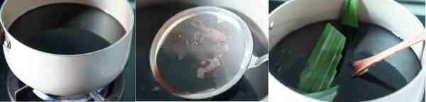 Cách làm sữa chua nếp cẩm - đun nếp cẩm trên bếp
