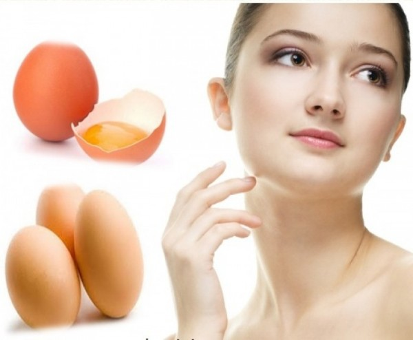 Cách làm trắng da tự nhiên - cách đắp mặt nạ trứng gà (mat na trung ga)
