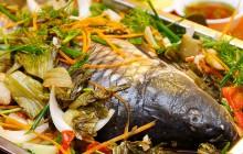 Cá chép om dưa đặc biệt thơm ngon cho ngày hè