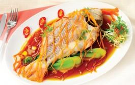 Cá hấp xì dầu: Cá diêu hồng mới ngon