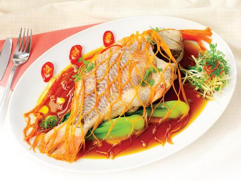 Cá hấp xì dầu thơm ngon bổ dưỡng