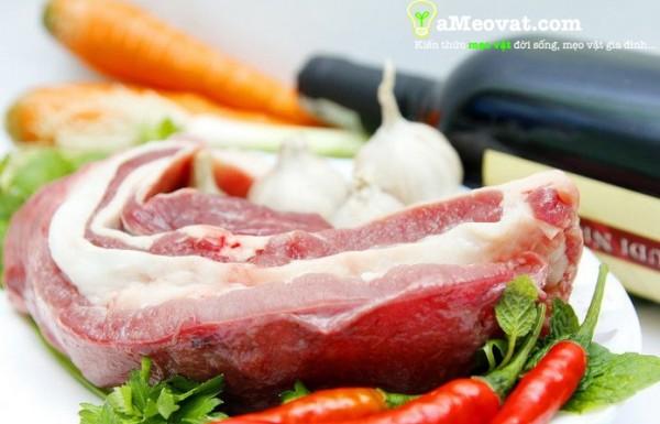 Cách nấu bò kho ngon - nguyên liệu làm bò kho