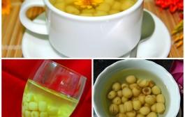 Cách nấu chè hạt sen tươi ngon dễ làm nhất