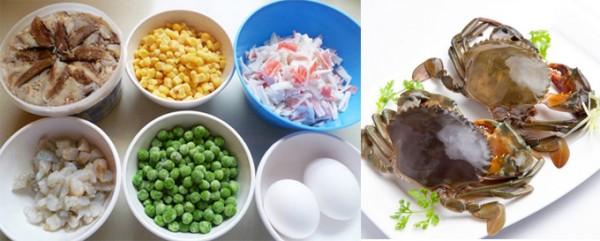 Cách nấu súp cua ngon - nguyên liệu nấu súp cua cach nau sup cua