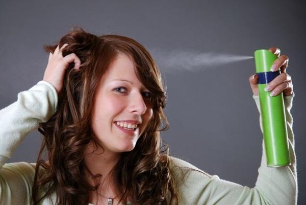 Xịt thuốc làm bóng làm tóc nhuộm lên màu hiệu quả -toc nhuom dep