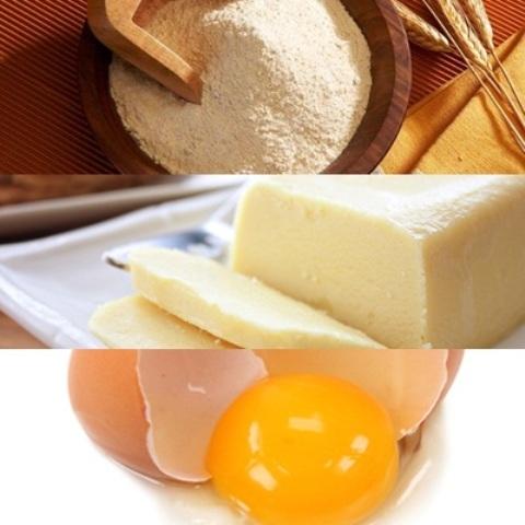 Nguyên làm phần vỏ bánh sầu riêng - cách làm bánh sầu riêng