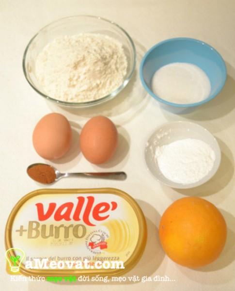 Nguyên liệu làm bánh quy bơ đậu phộng - cách làm bánh quy bơ đậu phộng