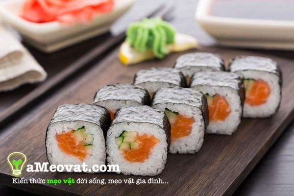 Cách làm sushi Nhật Bản đơn giản nhất ngay tại nhà thơm ngon hấp dẫn