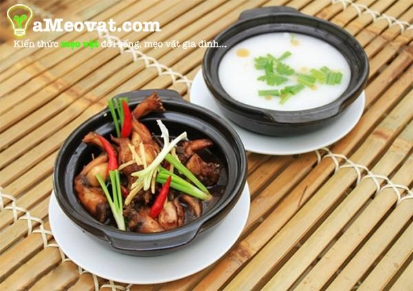 Cách nấu cháo ếch singapore ngon tuyệt tại nhà - cach nau chao ech singapore