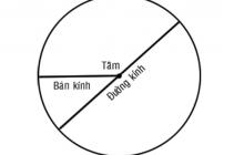 Cách tính diện tích hình tròn và chu vi hình tròn