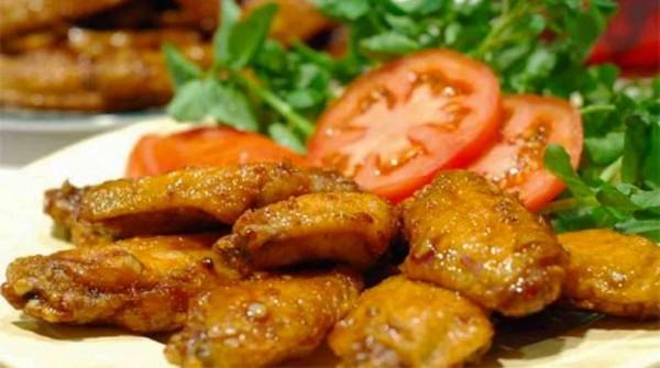 canh ga chien nuoc mam - Ăn kèm gà chiên mắm với cơm nóng cho ngon!