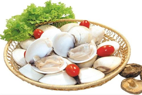 Nguyên liệu nấu canh ngao chua - canh ngao nấu chua