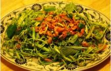 Cách làm nộm rau muống ngon giòn ngay tại nhà