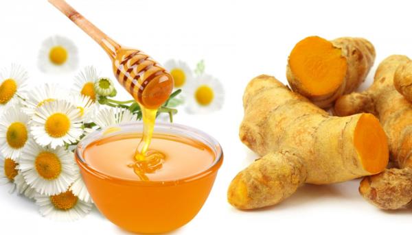 uống nước nghệ tươi có tác dụng gì - Kết hợp uống tinh bột nghệ với mật ong để đạt hiệu quả hơn