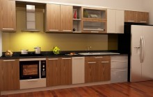 Tủ bếp nhựa - xu hướng lựa chọn mới cho bếp đẹp và sành điệu