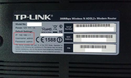 Cách đổi mật khẩu wifi - Modem TP-Link