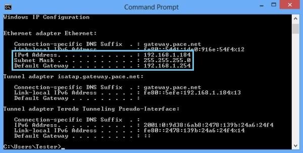 Cách đổi mật khẩu wifi - Màn hình DOS