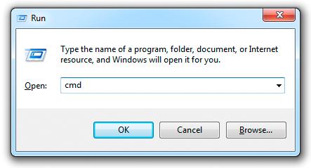 Cách đổi mật khẩu wifi - mở cửa sổ hợp thoại Run