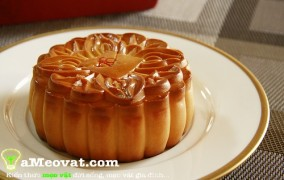 Cách làm bánh trung thu nướng thơm ngon ngay tại nhà