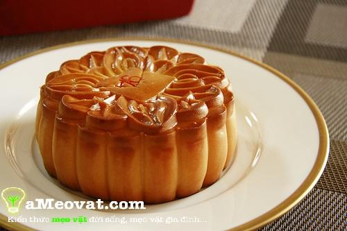 Cách làm bánh trung thu nướng - Bánh trung thu nướng nhân đậu xanh