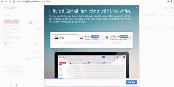 Đăng ký gmail miễn phí- Cấu hình tài khoản gmail
