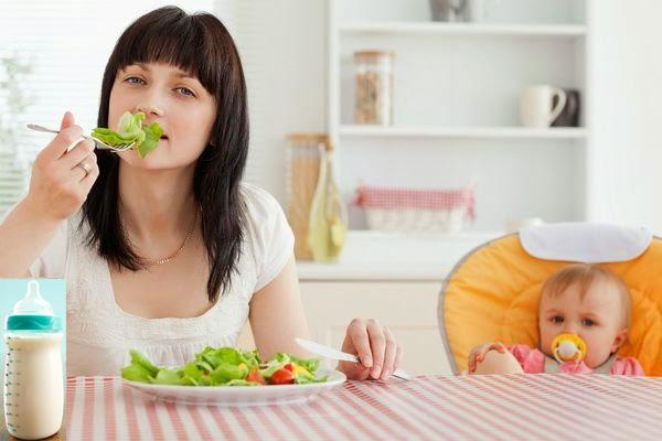 Cần phải xem kỹ thức ăn đồ uống có thành phần gây dị ứng hay không trước khi vắt sữa - sua me