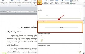 2 cách đánh số trang trong word đơn giản nhất