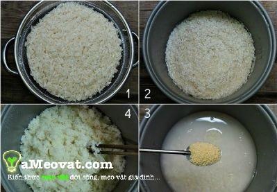 Cách làm cơm cháy - Nấu cơm