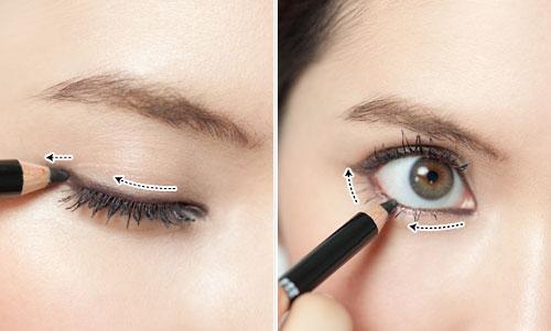 Học cách trang điểm tự nhiên nhất - Thực hiện kẻ mắt