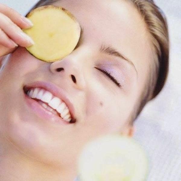 Mặt nạ khoai tây được xem là thần dược đánh tan quầng thâm vùng mắt - Mat na khoai tay