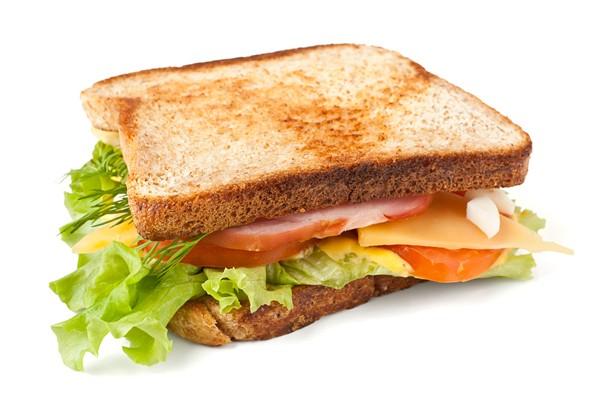 Bánh mì sandwich kẹp cho năng lượng cả ngày - banh mi sandwich