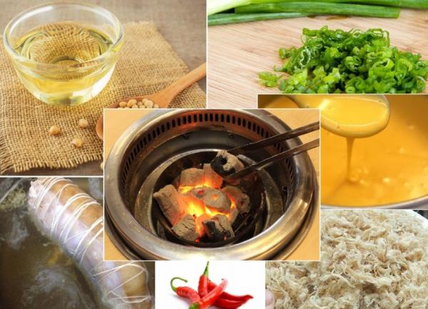 Các loại nguyên liệu cần chuẩn bị - cách làm bánh mì nướng muối ớt