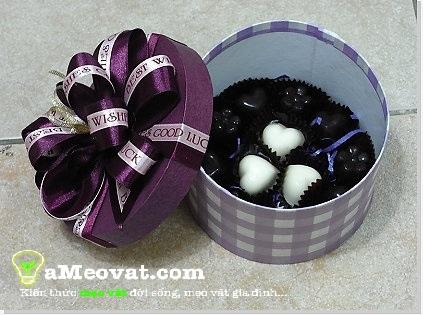 Cách làm socola valentine - Socola thơm ngon hấp dẫn đơn giản, dễ làm
