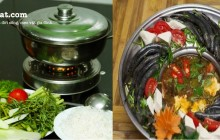 Cách nấu lẩu cá diêu hồng và lẩu cá kèo thơm ngon