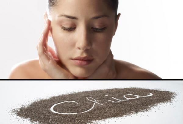 Hạt chia sẽ giúp sáng da, mượt tóc - Công dụng của hạt chia