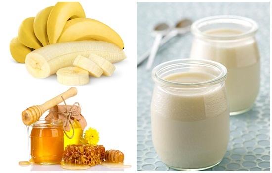 Cách đắp mặt nạ chuối , mật ong và sữa chua - Nguyên liệu cần chuẩn bị