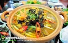 Ốc nấu chuối đậu ngon với công thức đơn giản nhất
