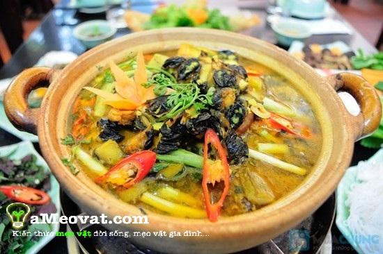 món ăn ngon lạ miệng: Ốc nấu chuối đậu ngon với công thức đơn giản nhất