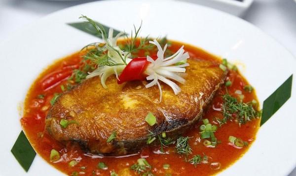 Cách làm cá sốt cà chua đơn giản tại nhà cực ngon - cá thu sốt cà chua
