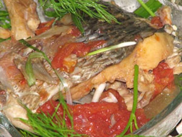 Món cá sốt đã hoàn thiện - cách làm cá sốt cà chua