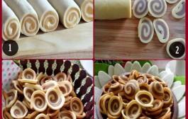 Cách làm bánh tai heo giòn tan, thơm lừng