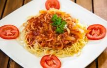 Cách làm mì spaghetti cà chua bò băm cực dễ