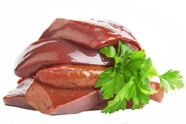 Gan động vật - tác dụng của vitamin a